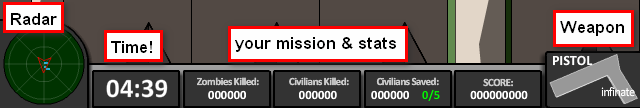 radar, mission and other stats